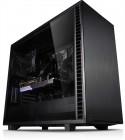 ATX-Midi Fractal Design Define 7 Black TG, schallgedämmt