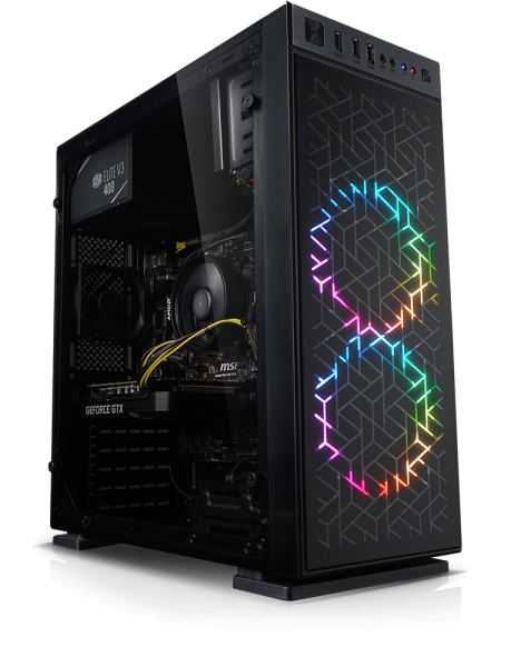 Centurion gaming PC Ryzen Gen III