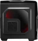 ATX-Midi Gehäuse K1, rote Lüfter