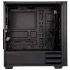 ATX-Midi Stronghold, Tempered Glass, schwarz