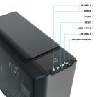 ATX-Midi Cooler MasterCase SL600M Black Edition, Aluminium